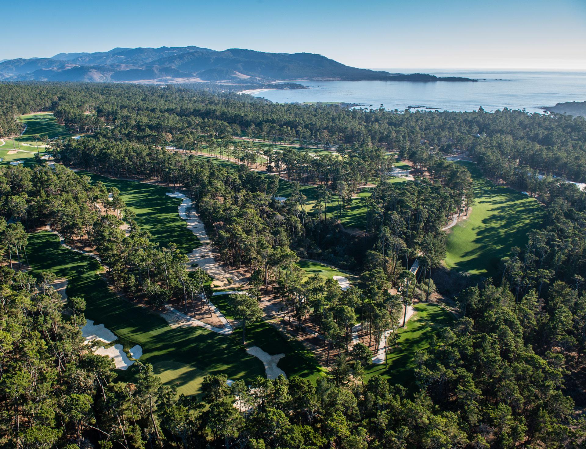 Pebble Beach Golf at Poppy Hills Golf Course
